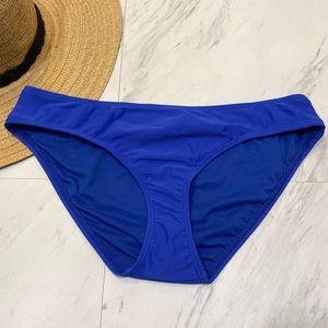 New! Rachel Roy Blue Swim Bikini Bottoms M